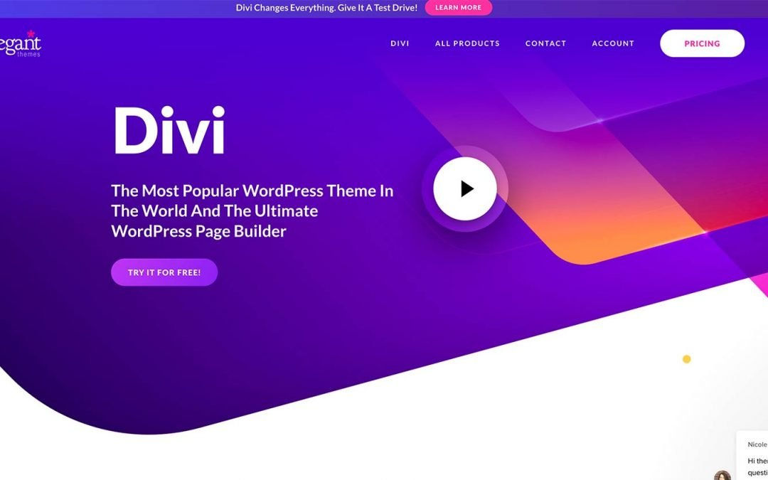 Divi 3.0 is the Ultimate WordPress Theme!